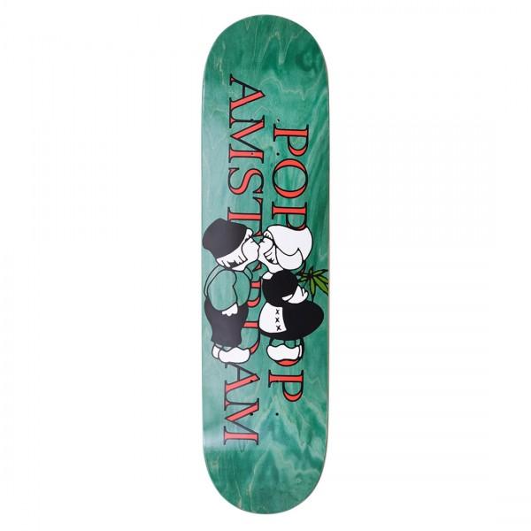 "Pop Trading Company Amsterdam Skateboard Deck 8.125"""