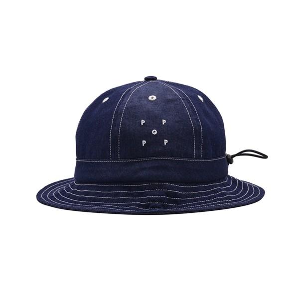 Pop Trading Company Bell Hat (Indigo Denim)