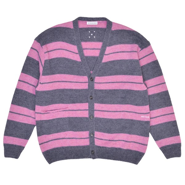 Pop Trading Company Captain Knitted Cardigan (Zephyr)