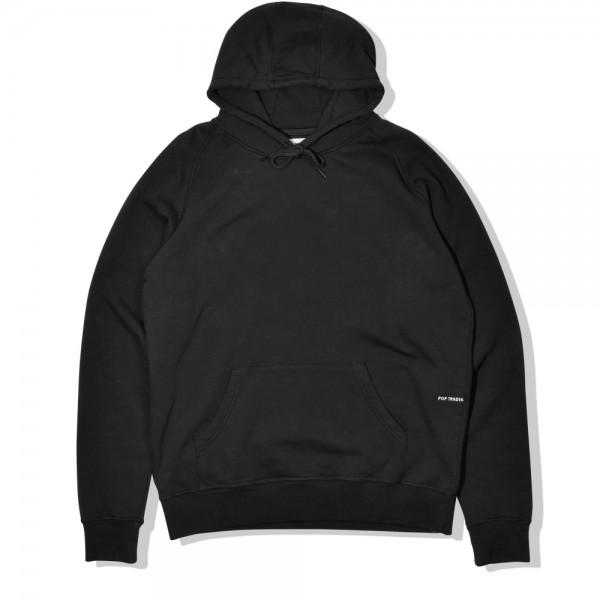 Pop Trading Company Logo Pullover Hooded Sweatshirt (Black)