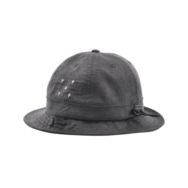 Pop Trading Company Minicord Bell Hat (Anthracite)