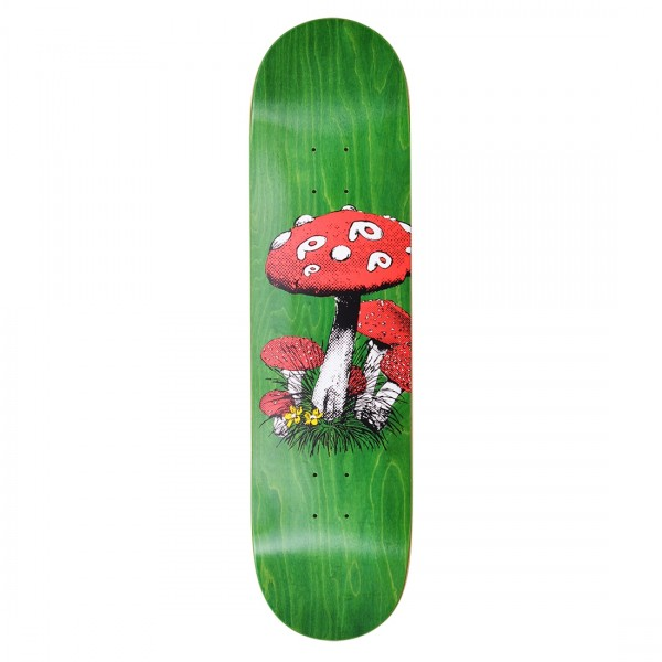 "Pop Trading Company Shroom Skateboard Deck 8.25"""