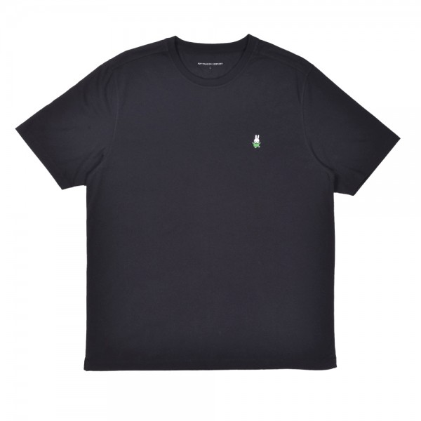 Pop Trading Company x Miffy Dancing Embroidery T-Shirt (Black)