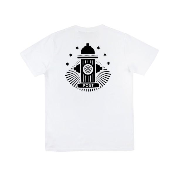 Post Details No Bills Hydrant T-Shirt (White)