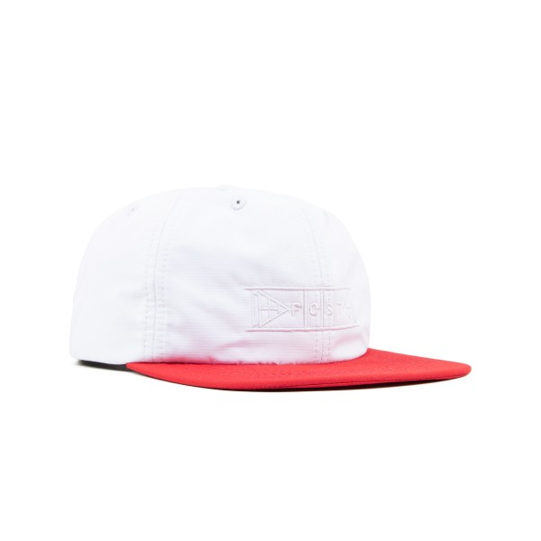Post Details Shuffleboard Cap (White/Red)