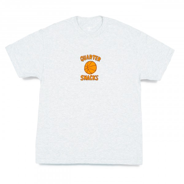 Quartersnacks Ball Is Life T-Shirt (Ash Grey)
