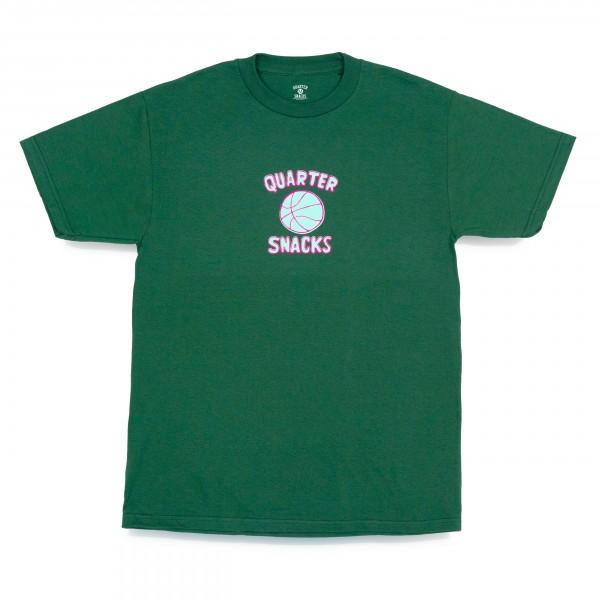 Quartersnacks Ball Is Life T-Shirt (Forest Green)