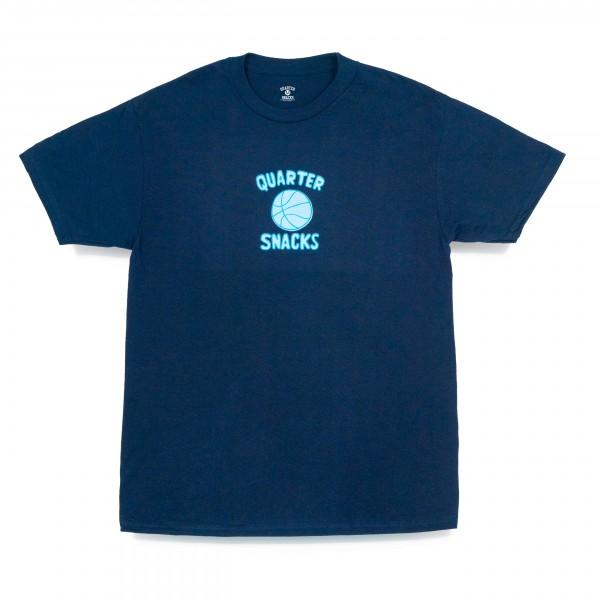Quartersnacks Ball Is Life T-Shirt (Navy)