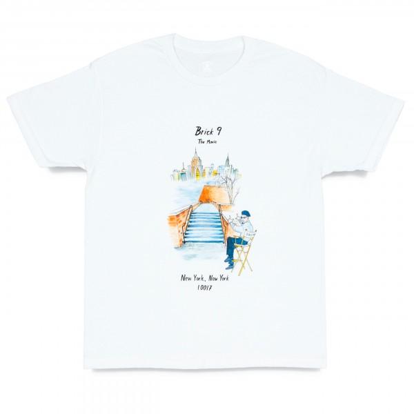 Quartersnacks Brick 9 T-Shirt (White)