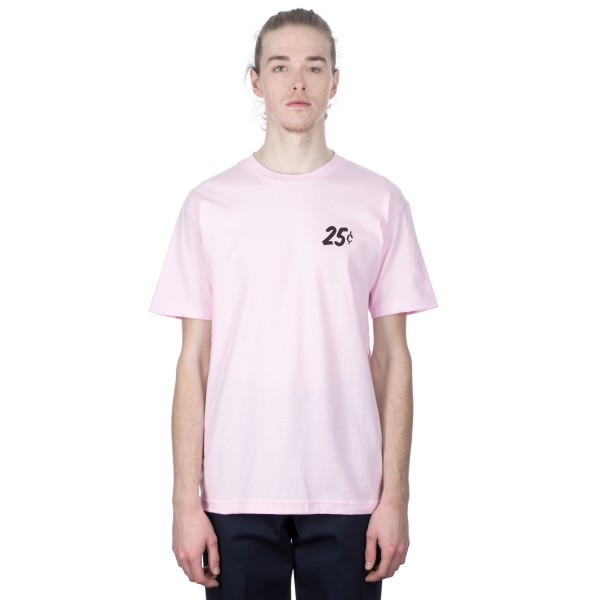 Quartersnacks Champagne Forever T-Shirt (Pink)