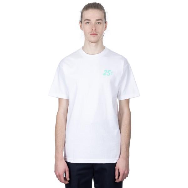 Quartersnacks Champagne Forever T-Shirt (White)
