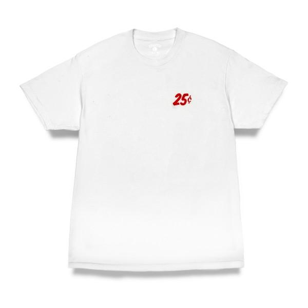 Quartersnacks Classic Snackman T-Shirt (White)