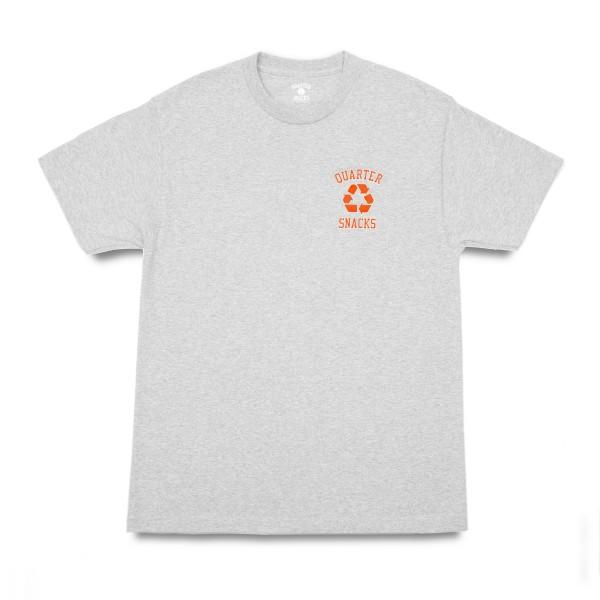 Quartersnacks Junkyard Snackman T-Shirt (Heather Grey)