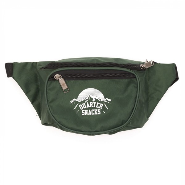 Quartersnacks Party Satchel (Forest Green)