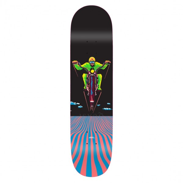 "Quasi Crockett Dream Cycle Skateboard Deck 8.25"""