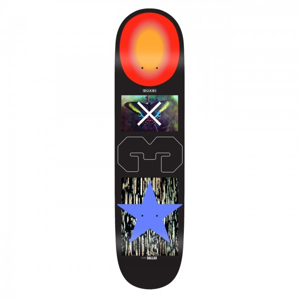 "Quasi Dallas Man Skateboard Deck 8.5"""