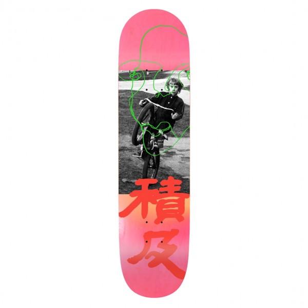 "Quasi Johnson Untitled Skateboard Deck 8.125"""