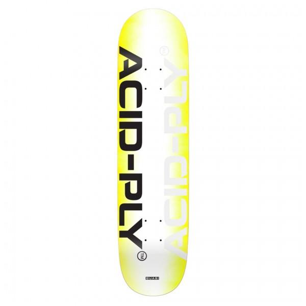 "Quasi Technology One Skateboard Deck 8.0"""