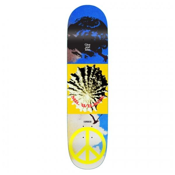 """Quasi Wilson Aquarius Skateboard Deck 8.125"""""""
