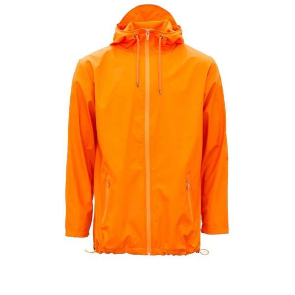 Rains Breaker Rain Jacket (Fire Orange)