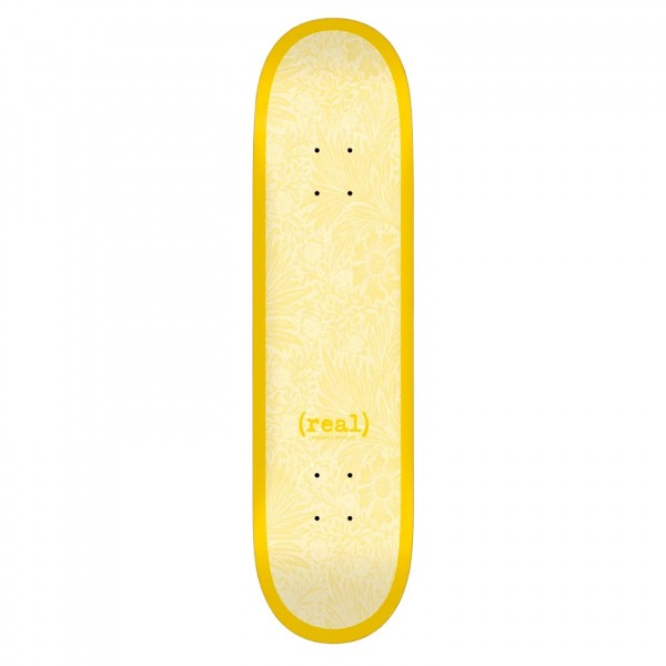 "Real Flowers Renewal Skateboard Deck 8.38"" (Yellow)"