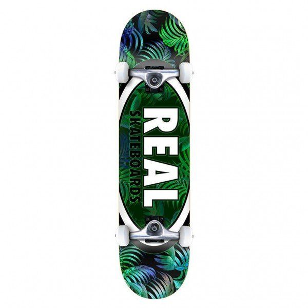 "Real Team Tropic Ovals 2 LG Complete Skateboard 8.0"" (Multi)"