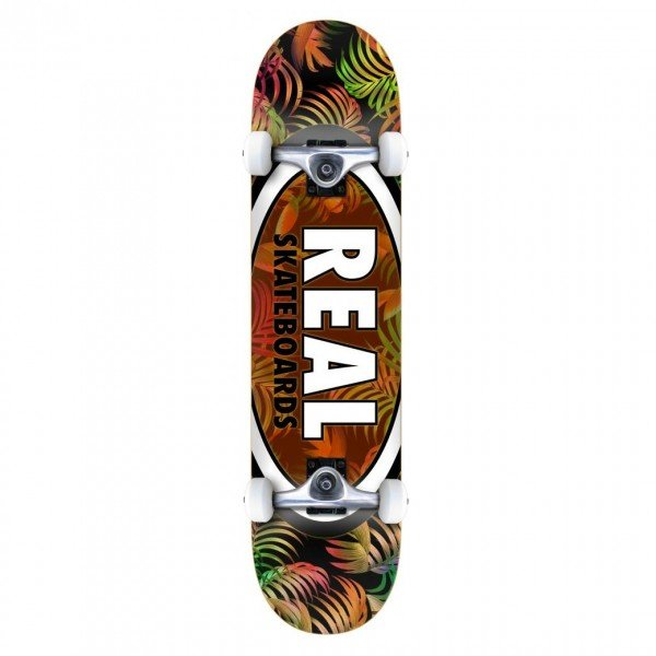 "Real Team Tropic Ovals 2 MD Complete Skateboard 7.75"" (Multi)"