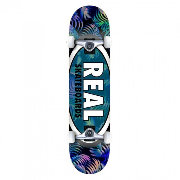 "Real Team Tropic Ovals 2 SM Complete Skateboard 7.5"" (Multi)"