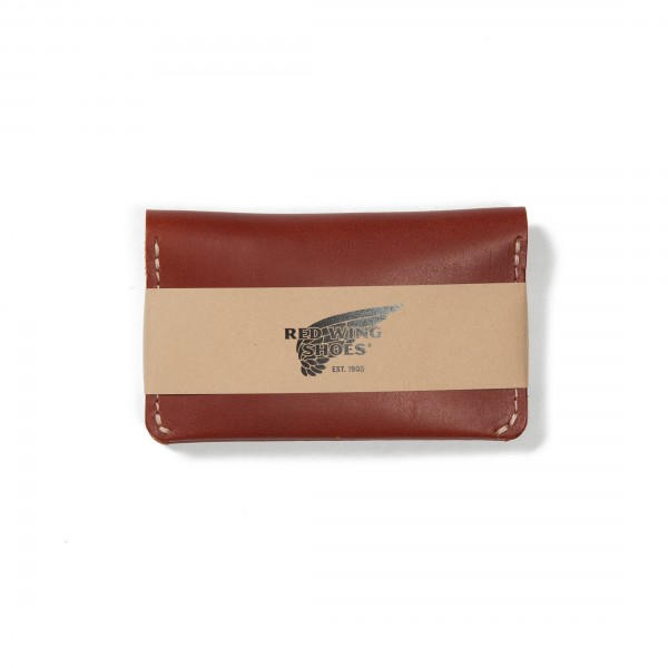 Red Wing Card Holder Wallet (Oro Russet Frontier Leather)