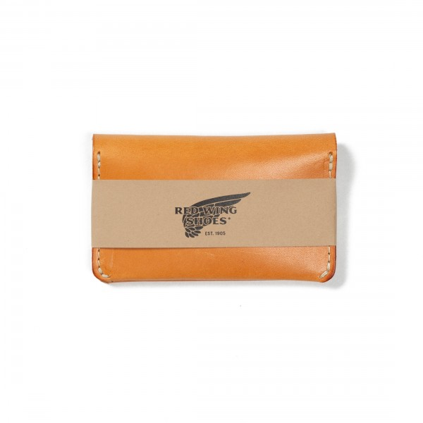 Red Wing Card Holder Wallet (Vegetable-Tanned Leather)