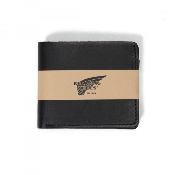 Red Wing Classic Bifold Wallet (Black Frontier Leather)
