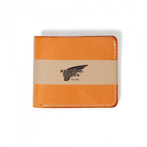 Red Wing Classic Bifold Wallet (Vegetable-Tanned Leather)