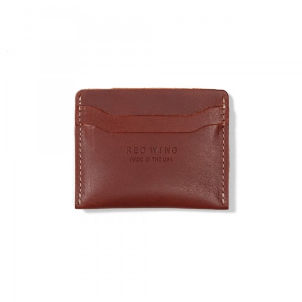 Red Wing Credit Card Holder (Oro Russet Frontier Leather)