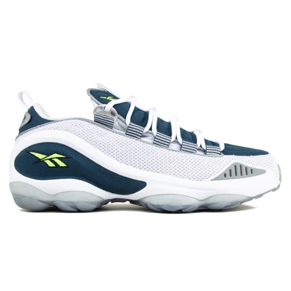 Reebok DMX 10 'Nocturnal Blue' (White/Nocturnal Blue/Neon Yellow)