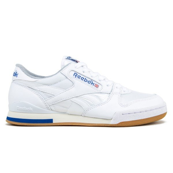 Reebok Phase 1 Pro (White/Collegiate Royal/Tin Grey/Sandtrap)