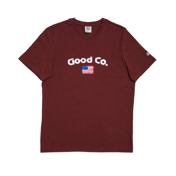 Reebok x The Good Company New T-Shirt (Burnt Sienna)