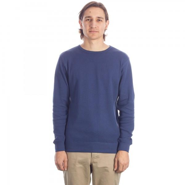 Saturday's Surf NYC Kasu Thermal Long Sleeve T-Shirt (Navy)