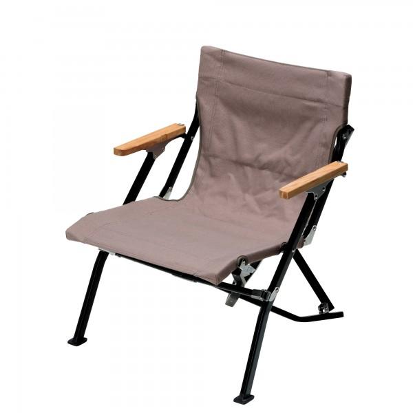 Snow Peak Short Low Chair (Grey)