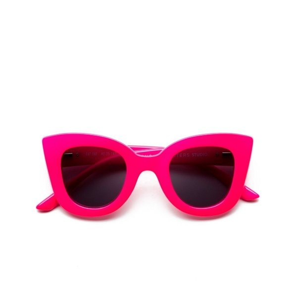 Sons + Daughters Cat Cat Sunglasses (Magenta Neon)