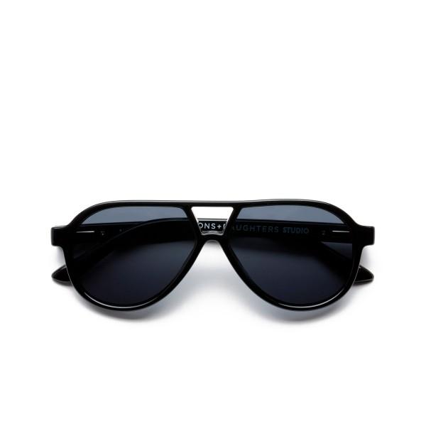 Sons + Daughters Rocky II Sunglasses (Black Gloss)