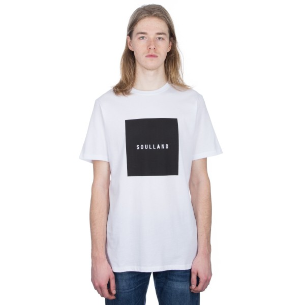 Soulland Soulsquare T-Shirt (White)