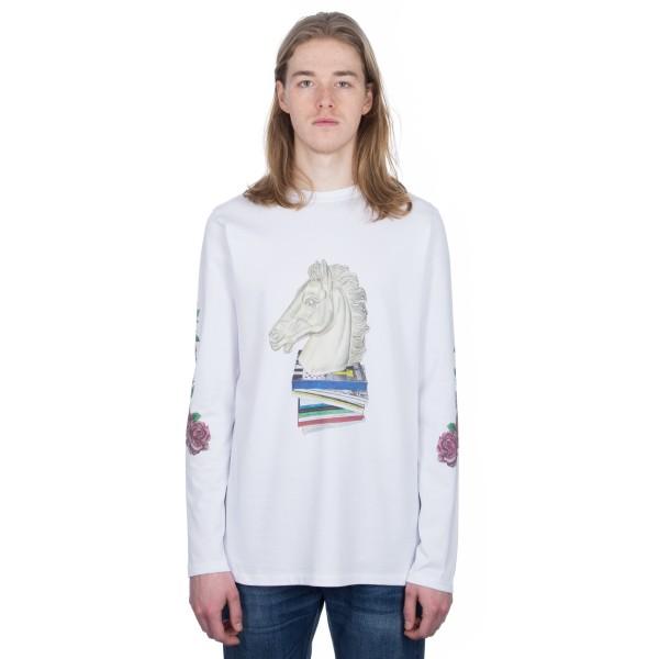 Soulland Vinton Long Sleeve T-Shirt (White)