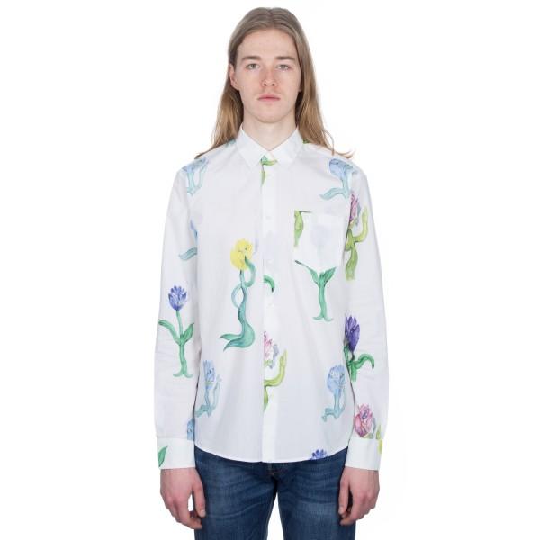 Soulland Wedge Shirt (White/Multi)