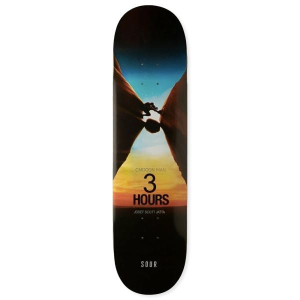 """Sour Solution Josef 3 Hours Skateboard Deck 8.5"""""""