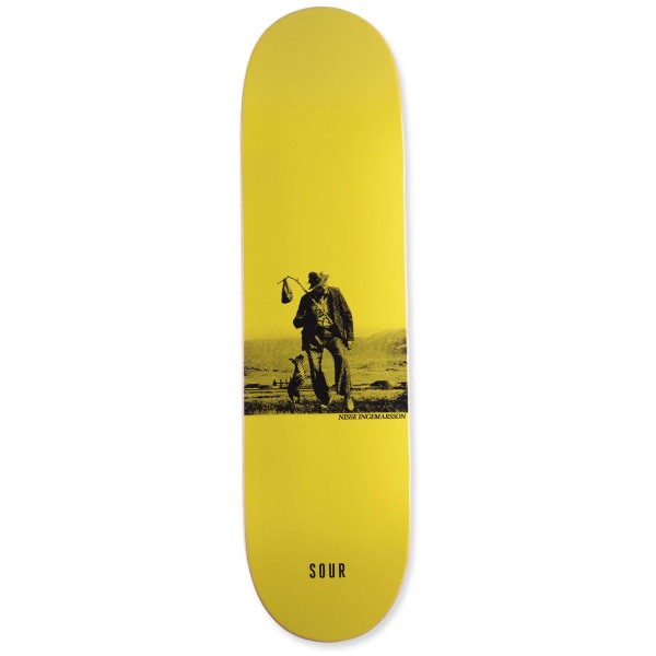 "Sour Solution Nisse Drifter Skateboard Deck 8.5"""