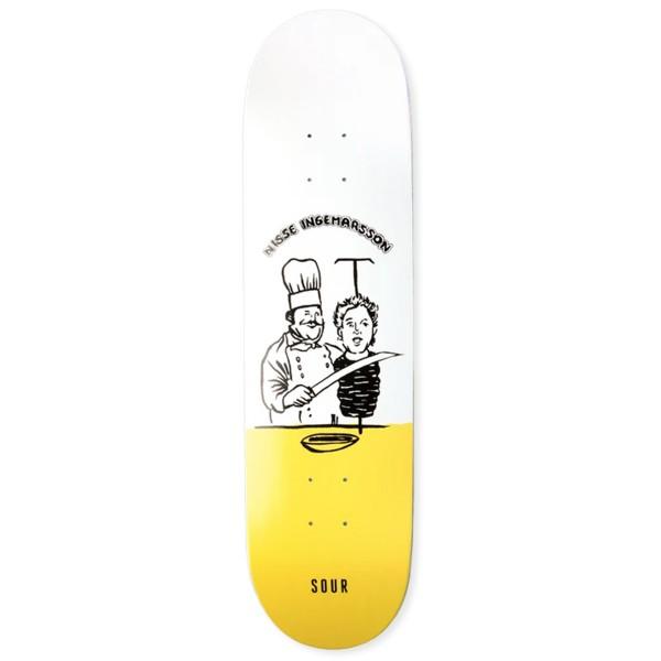 """Sour Solution Nisse Kebab Skateboard Deck 8.5"""""""
