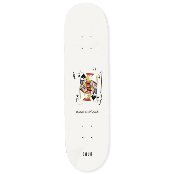 "Sour Solution Spangs Twenty One Skateboard Deck 8.18"""