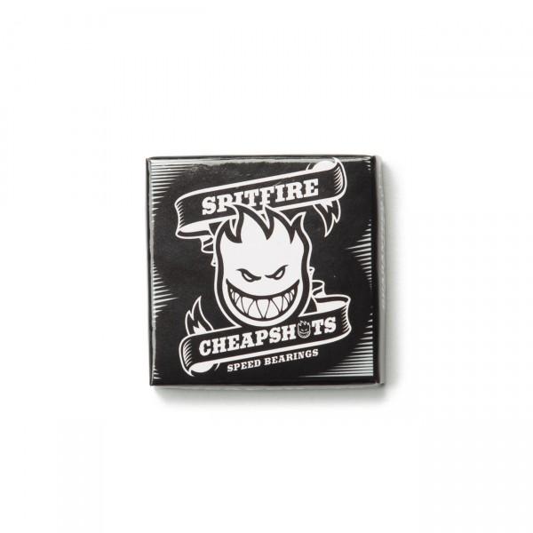 Spitfire Cheapshots Skateboard Bearings (Black)