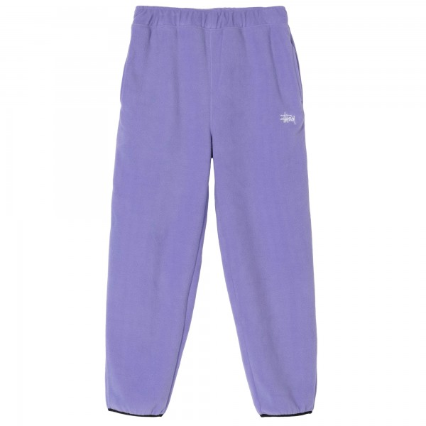 Stussy Basic Polar Fleece Pant (Violet)