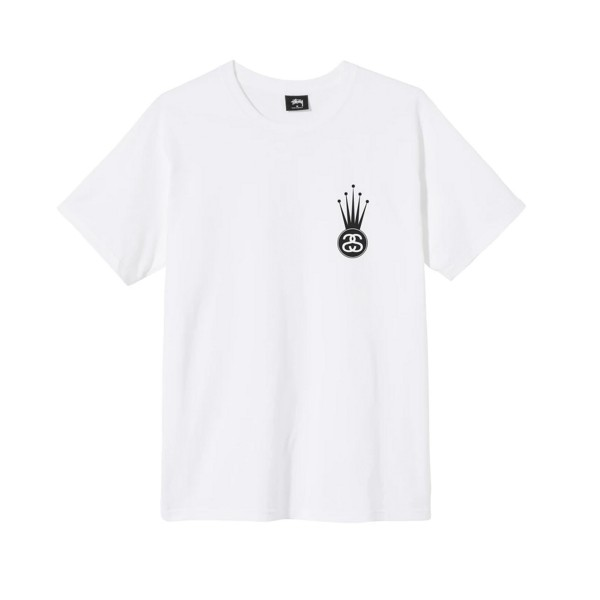 Stussy Crown Link T-Shirt (White)